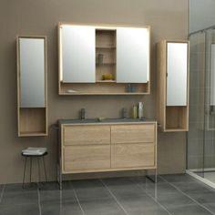 armoire salle de bain miroir - Recherche Google | salle de bain ...