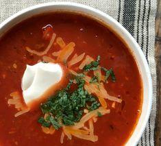 Heisann!  Om du skal lage suppe i dag, så prøv deg på tacosuppe! Den er lett å la...