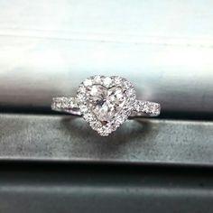 Engagementring, diamantes