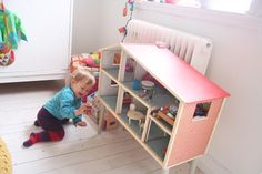 dollshouse idea for baby girls room