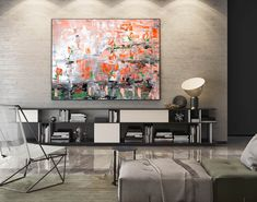 Abstract Painting on Canvas - Extra Large Wall Art, Contemporary Art, Original Oversize Painting Oil Canvas, Large Canvas Art, Abstract Canvas Art, Oil Painting On Canvas, Oil Painting Texture, Large Painting, Texture Art, Extra Large Wall Art, Large Art