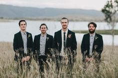 HAYLEY   MARC, groom style, groomsmen style, patterned shirts