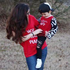My Mom is My BFF Best Friend Shirt BFF Shirts by HoneyBugThreads