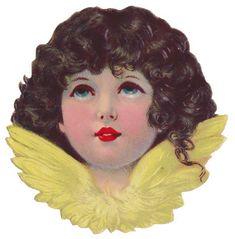 Sentimentalia - Victorian Stickers ~ Glansbilleder > Angels ~ Engle