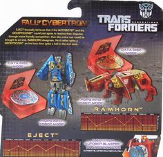 Legends Class Eject & Ramhorn (Transformers, Generations, Autobot) | Transformerland.com - Collector's Guide Toy Info