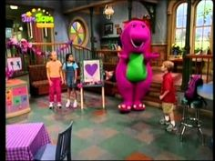 Barney i przyjaciele - A perfectly purple day PL.avi
