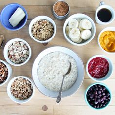 A Choose-Your-Own-Adventure Bowl of Oatmeal: For nearly a decade, I've started more mornings than not with a bowl of oatmeal, so to say that I've experimented with techniques and toppings is a gross understatement.