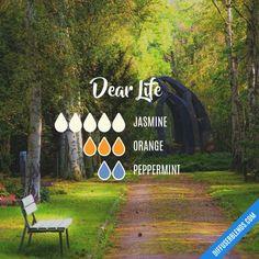 Dear Life - Essential Oil Diffuser Blend