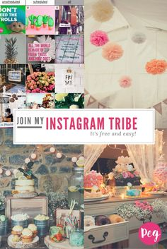 Do you want to join my Instagram Fans Tailwind tribe? Click the link and join the Insta-Pinterest party :)