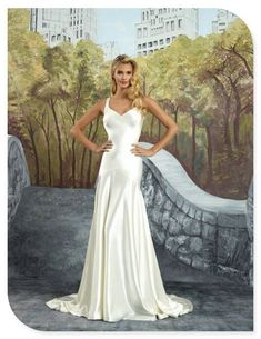 c6805066c353 Style 8926 by Justin Alexander - Luxe Charmeuse Trumpet Gown with Detachable  Beaded Cape