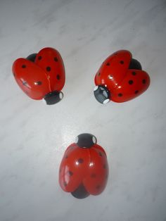 Garden Ladybird Made From Recycled Plastic Spoons – The Owner-Builder Network Plastic Spoon Crafts, Plastic Bottle Flowers, Plastic Bottle Crafts, Plastic Spoons, Plastic Bottles, Plastic Recycling, Plastic Bags, Cumpleaños Lady Bug, Aluminum Can Crafts
