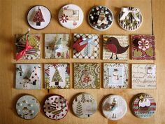 Early christmas inchies   by Little Miss Crafty