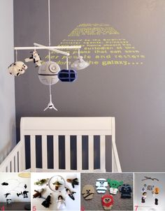 This is unbelievably awesome. This would probably be my baby room had I not already gone with something