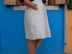 Couture Ma robe Dolce Vita Patron Burda + La maison Victor