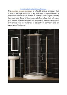 """""""A Guide to the Quadrant Shower Enclosure"""" published by """"showerenclosure"""" on @edocr Quadrant Shower Enclosures, Have A Shower, Bathroom Wall, Light Colors, Glass, Drinkware, Bright Colours, Corning Glass, Yuri"""