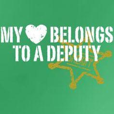 my heart belongs to a deputy