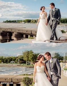 Catawba Island Club Weddings Port Clinton Ohio By Mary Wyar Photography http://marywyar.com