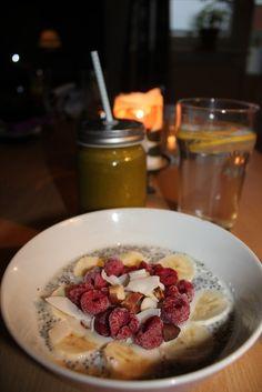 heartfulloffood.blogg.se - Kokoschiapudding med en energirik juice och citronvatten – chia pudding – Oatly