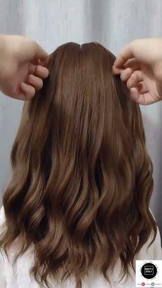Easy Hairstyles For Long Hair, Diy Hairstyles, Pretty Hairstyles, Hairdos, Updos, Bridesmaid Hair, Prom Hair, Medium Hair Styles, Curly Hair Styles