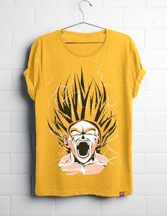 Super Saiyan Goku Shirt in India @ ComicSense