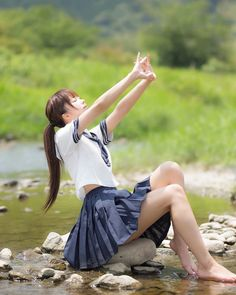 Check out these Japanes theme cosplay characters. School Girl Japan, Japan Girl, Japanese School Uniform, School Uniform Girls, Girls Uniforms, School Girl Uniforms, Beautiful Japanese Girl, Beautiful Asian Women, Cute Asian Girls