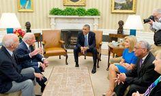 EE.UU.: Obama recibió a los astronautas del Apolo 11 en el 45 aniversario.