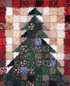 Tips For Just A Second Wedding Ceremony Anniversary Reward Oh Christmas Tree Quilt Sewing Pattern From Saginaw St Quilts Christmas Rag Quilts, Christmas Quilt Patterns, Patchwork Quilt Patterns, Beginner Quilt Patterns, Sewing Patterns, Quilting Patterns, Patchwork Ideas, Christmas Sewing Projects, Christmas Crafts