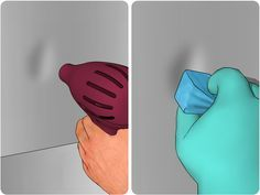 How to Remove a Dent from a Stainless Steel Refrigerator -- via wikiHow.com