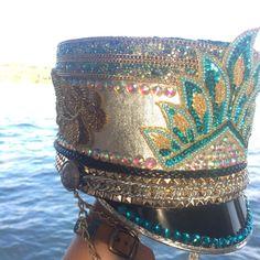Burning Man Marching Band Hat Custom Festival by IneffableGlitter