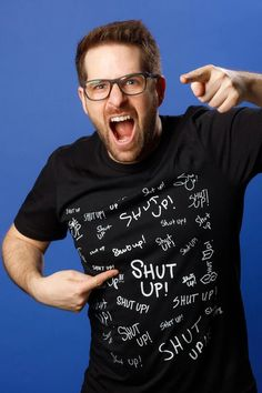 Get your official Smosh Store merch! Shop the Shut Up Smosh Tee. A classic catch phrase from Smosh's history. Black tee, unisex fit with white Shut Up graphic on the front. Disney Princess Tattoo, Punk Princess, Adventure Time Art, Cartoon Network Adventure Time, Funny Road Signs, Try Guys, Princess Adventure, Alternative Disney, Disney Posters