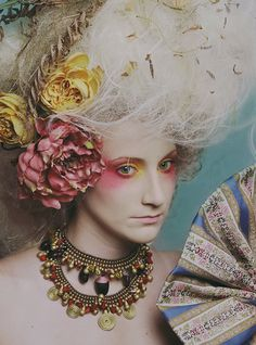 Go high class renaissance with an elaborate costume, big teased hair or wig, and outlandish makeup! We have it all at Rose Costumes!