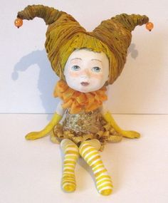handmade Dolls paper clay