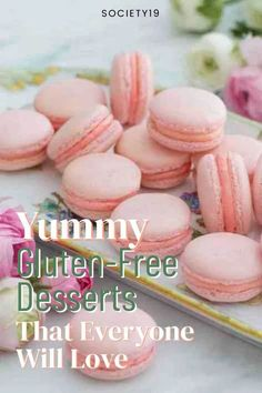 Yummy Gluten-Free Desserts That Everyone Will Love Gluten Free Pastry, Gluten Free Pie, Gluten Free Treats, Gluten Free Desserts, Sweet Desserts, Sweet Recipes, How To Make Brownies, How To Make Sandwich, Coconut Macaroons