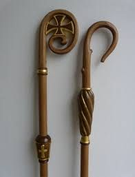 Walking Sticks And Canes, Walking Canes, Martial, Roman Church, Wicca, Candle Sconces, Wands, Metal Working, Catholic