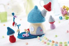 FREE PATTERN! Fairy Garden by Sarah Shrimpton from LGC Knitting & Crochet issue 76