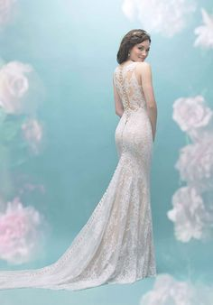 Allure Bridals is one of the premier designers of wedding dresses, bridesmaid dresses, bridal and formal gowns. Browse our collection and visit one of our retailers. Sheath Wedding Gown, Lace Sheath Dress, Boho Wedding Dress, Pageant Dresses, Bridal Dresses, Bridesmaid Dresses, Beautiful Wedding Gowns, Dream Wedding, Wedding Girl