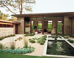 Neumann Mendro Andrulaitis Architects Montecito Residence - Entry Courtyard