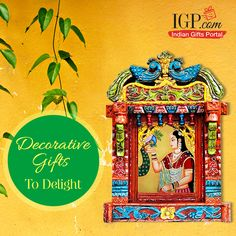 Decorative gifts to make your dear ones smile gleefully #DecorGifts