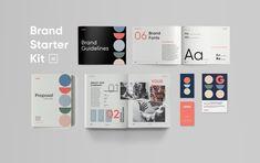 Brand Starter Kit for InDesign Letterhead Template, Indesign Templates, Brand Guidelines Template, Go Logo, Proposal Letter, Note Fonts, Brand Fonts, Postcard Template, Proposal Templates