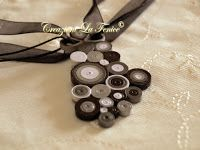 Creazioni La Fenice: Pendente a quilling Quilling, Bobby Pins, Washer Necklace, Hair Accessories, Jewelry, Bedspreads, Jewlery, Jewerly, Schmuck