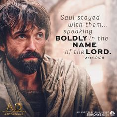 Catch A.D. The Bible Continues, Sunday, 9/8c on NBC! #ADtheSeries