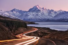 Join our New Zealand Photo Tour and shoot at the top places of New Zealand. Cook, Catlins, Queenstown and much more! For all levels. Mount Cook, Photography Tours, Top Place, Natural Phenomena, Photo Wallpaper, All Over The World, New Zealand, Journey, Landscape