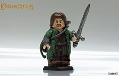 Lord of the rings   Custom LEGO Minifigures
