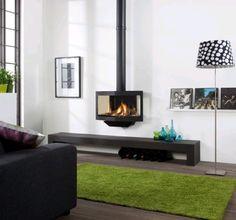 Have Black Stealth #Kampen #Fireplace #Fireplaces #Interieur #Kachelplaats