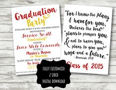 43 best graduation images on pinterest grad parties graduation congratulations on your graduation send out this customized card to your family and friends to let them know that you are graduating filmwisefo