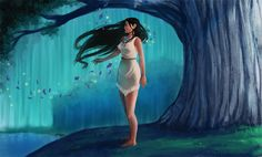 Listen With Your Heart by ~miyumon - Pocahontas