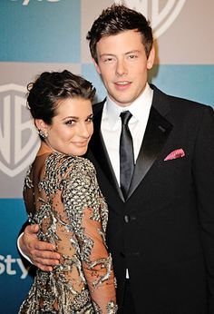 The Glee stars got close at the 13th Annual Warner Bros. and InStyle Golden Globe Awards After Party at The Beverly Hilton Hotel on Jan. 15, 2012 in Beverly Hills.    Read more: http://www.usmagazine.com/celebrity-news/pictures/lea-michele-and-cory-monteiths-sexy-romance-201298/24290#ixzz25ndihfNF
