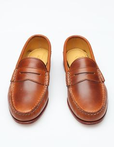 65352bc2d04 Quoddy   True Penny Loafer in Whiskey · Formal ShoesCasual ...
