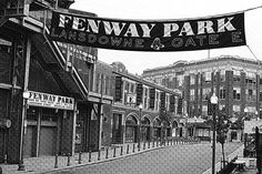Fenway Park, Black and White, Lansdowne Street, Boston Photography, Boston Print, Boston Art, Boston Decor