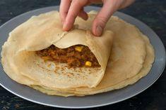 Fyldte pandekager med oksekød | Nem, lækker og børnevenlig aftensmad Viera, Tacos, Mexican, Pasta, Cooking, Ethnic Recipes, Desserts, Food Ideas, Handmade